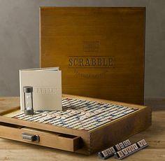 aa59ff83338f Restoration Hardware Vintage Edition Scrabble. Scrabble Tile Crafts