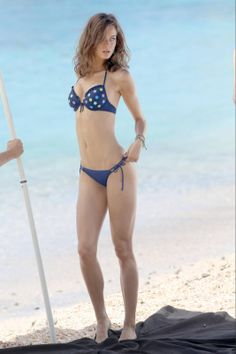 Monika Jagaciak – Victoria's Secret Bikini Photoshoot Candids in St. Barths - 1
