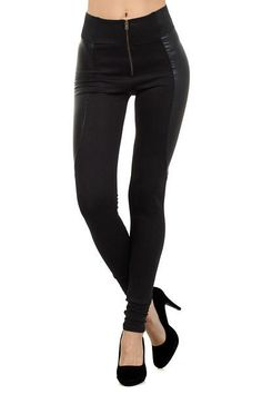 Divinity Cruiser Faux Leather Leggings