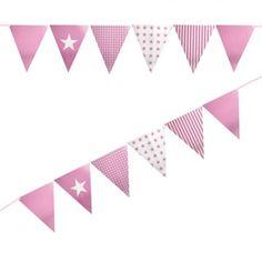 Shmick Pastel Pink Flag Banner 3.5m
