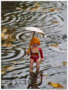 A LOVE STORY Playmobil ~ summer rain