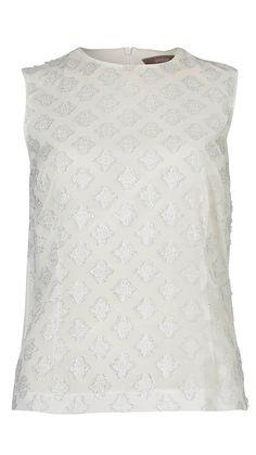 Feminin hvid top fra Gustav | Shop Serafine.dk