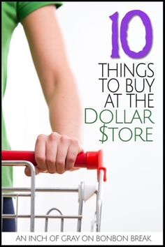 10 things to buy at the dollar store