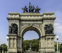 Soldiers and Sailors Memorial Arch, #Brooklyn, #NewYork.