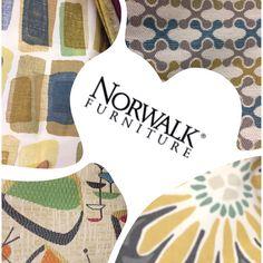 #norwalkfurniture has fun and great fabrics