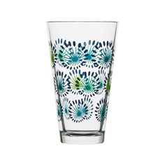 This set of 4 Synergetic Large Drinking Glasses transforms a casual kitchen or bar into a tropical paradise. A fresh and lovely design featuring birds and flowers infuses a good mood and lighthearted f...  Find the Synergetic Large Drinking Glasses - Set of 4, as seen in the Dot&Bo Exclusive Sale Collection at http://dotandbo.com/collections/48-hour-private-sale?utm_source=pinterest&utm_medium=organic&db_sku=105971