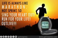 Healthy active runners can adapt to increased levels of exercise in a fashion that improves performance and cardiovascular risk profile. Run for you life. Best with Heart Rate Monitor Watch. Click here for more info:http://ebay.to/1TRuMt5  #marathon #healthyheart #healthylife #gainexpress