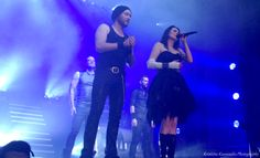 #WTlive #withintemptation #hydra #sharondenadel #worldtour   More photos http://kkgigphotos.blogspot.fi/2014/03/within-temptation-kaapelitehdas.html and better quality.