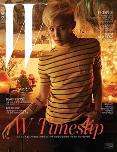 "G-Dragon for ""W Korea"" (January 2014)"