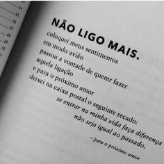 "Caio César220 on Instagram: ""Não ligo mais... 🍃"" Quotes For Book Lovers, Love Quotes, Inspirational Quotes, Sad Love, Love You, Broken Hearts Club, Alice And Wonderland Quotes, Frases Humor, Some Words"