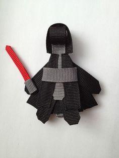 New Handmade Star Wars Inspired Darth Vader and Yoda Hair Clip Combo Pack | eBay