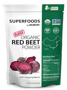 Metabolic Response Modifier- Raw Organic Red Beet Powder 8.5 oz