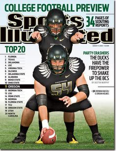 Oregon Ducks on the cover of Sports Illustrated #nationalbrand