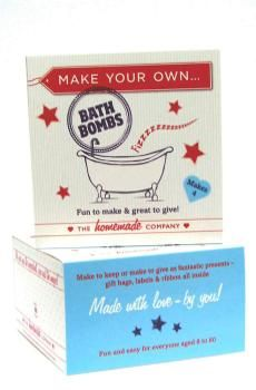 The Homemade Company Make Your Own Bath Bombs