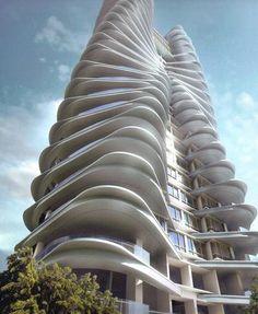 organic facade