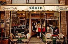 Zazie... best brunch in SF from what I heard. Must try.