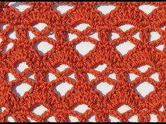 Crochet: Punto Combinado # 28 - YouTube