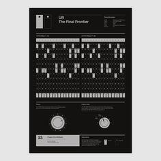 Underground Resistance - UR The Final Frontier - Program Your Bleep. Afrika Bambaataa, Drum Patterns, Drum Machine, The Final Frontier, Sound Design, Printing Labels, Programming, Techno, Finals