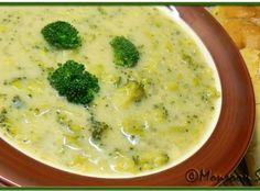 broccoli soup cream of broccoli soup recipe more broccoli soup recipes ...