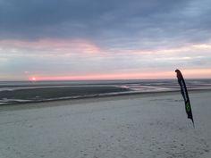 Nach Sonnenuntergang am Strand