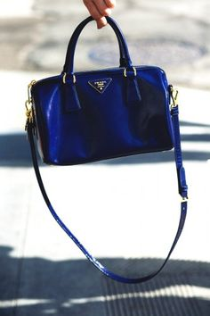 blue beauty by Prada