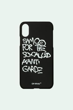 f5afa60b Off-White™ Keeps the Basquiat Love Coming With Printed iPhone X Cases