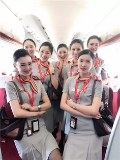 Hainan Airlines, Airline Cabin Crew, Flight Attendant, Sexy Asian Girls, Beijing, Planes, Pilot, Girly, Chinese
