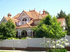 Home Exteriors - Terracotta Roof Tiles - Australian Federation Style House