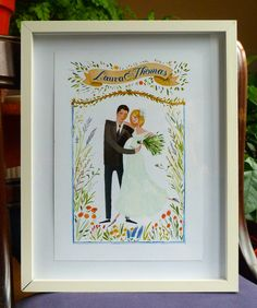 Have their wedding invitation professionally framed. It's a great keepsake for the couple, and turns their invitation into a gorgeous display piece for their new home!