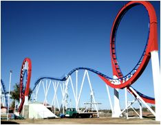 Wonderland Park Amarillo, Texas  This is the Texas Tornado