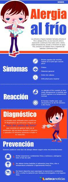 Alergia al frío Autoimmune Disease, Beauty Tricks, Skin Problems, Infographic, The Unit, Character, Medicine, Allergies, Finance
