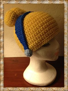 So this is Love! Custom Crocheted Disney Princess Cinderella Styled Hat!