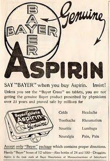 The inventors of Aspirin. Bayer.