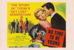 NO TIME TO BE YOUNG 1957 JD Movie on DVD - Terrific youth dancehall scene where all the cats and kittens dance the jitterbug to a wild rock n roll beat… Hot Rod Movie, Film Movie, 1961 Movies, Robert Vaughn, Film Genres, Films, Movie Market, Design Comics, The Man From Uncle