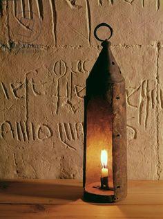 Medieval lantern, found in Smithfield, London (copper alloy) 14th century