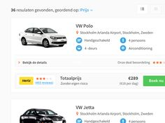Car listing