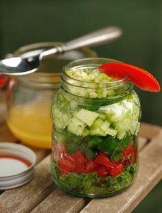 Gazpacho soup becomes a salad, in a jar | Dallasnews.com - News for Dallas, Texas - The Dallas Morning News