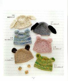 Gomitoli Magici: cappellini con orecchie !