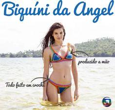 Chegou, Compre Já !Trend Verão 2016: Biquini da Angel – Verdades Secretas #biquini #bikini #angel #croche #crochê #islay #kinni #verdades #secretas #kiini http://www.charmosadivina.com.br/angel