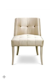 HOPI Dining Chair | BRABBU  Fabric: synthetic leather  Legs: covered with synthetic leather  http://brabbu.com/upholstery/hopi-dining-chair.php
