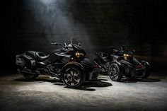 The 2016 Can-Am Spyder F3-S and F3 Limited.