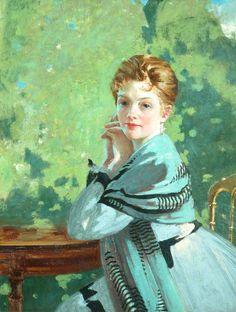 George Henry (1858–1943) - Felicity