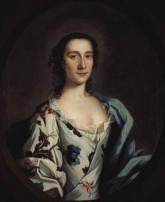 1740-1745 Portrait of Clementina Walkinshaw, mistress of Prince Charles Edward