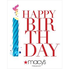 Happy Birthday E Gift Card 10 Liked On Polyvore Featuring Cards