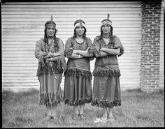 Mashpee Wampanoag women of Cape Cod 1929