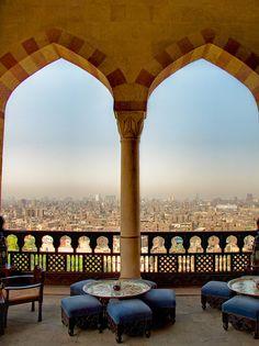 Al Azhar Park, Cairo by sdhaddow, via Flickr