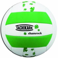 Tachikara Fun Volleyball Shamrocks Volleyballs Indoor Volleyball Volleyball