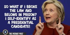 She should do time like any else who did what she did. yet the morons will vote for her for president.