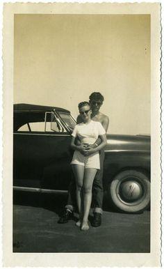 Snapshot c.1950s (via Olivier)
