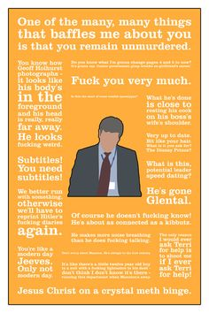 The Thick of It Adam Kenyon poster  http://www.etsy.com/listing/114092566/the-thick-of-it-adam-kenyon-alternative